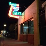 great food, friendly staff, and killer neon!