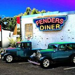 Fenders car show
