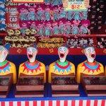 Wild looking clown game