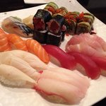 Wonderful sushi for two at $37