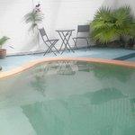 Tropical Pool Area.
