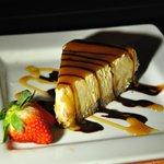 Sunset Grille - papaya cheese cake