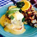 Carne Asada Eggs Benedict