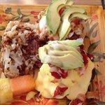 Lobster eggs Benedict! Yum!
