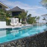 une des trois piscine