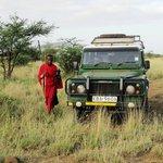 Сопровождающий – воин масаи