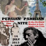 Persian Parisian Nite July 14,2013 celebrating our 25th Anniversary