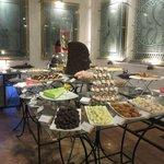 Dessert room!