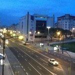 25 марта 2014 года 06:14 утра.Вид из окна отеля