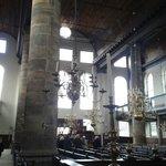 As colunas Jonicas.