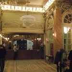 The sumptious lobby