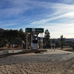 Get gas before you get on the road to Catavina. Closed PEMEX gas station