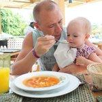 Обед в Итальянском  ресторане а ля карт