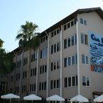 Один из корпусов отеля Club Bella Sun Hotel