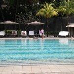Big Pool Side Area