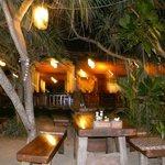 Lanta Miami restaurant at night