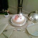 Торт на День Рождение от  отеля в подарок