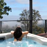 Relaxing spa and gorgeous views
