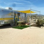 another airstream on the site
