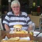 That is a proper burger