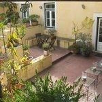 Ourside garden area