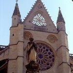 facciata cattedrale di Leòn