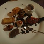 Famous dessert plate.