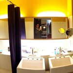 Panorama of the bathroom