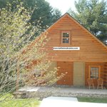 Buffalo Trail offers log cabins and stone cottages! www.buffalotrailcabins.com