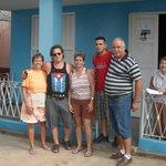 mi familia en Viñales