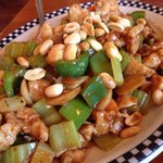 Kung Pao Chicken. Fresh, piping hot, prepared to our taste. Outstanding.