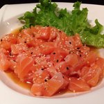 Tartar salmone