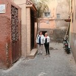 Entrence to Riad