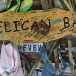 Pelican Bar decor