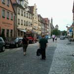 La rue de l'hôtel Eisenhut