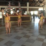 Welcome dancers