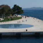 Zadar - Sea Organs, shines the Greeting to the Sun