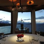 Vista do restaurante.