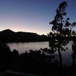 Anoitecer do Lago Nahuel Huapi.