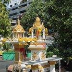 Temple in premises
