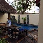 Deluxe Pool Villa No. 184 view from front door