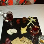 Cheese course,  fantastic food