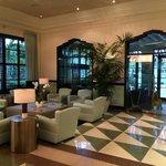 The Astor lobby