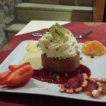 Dessert chocolat glacé