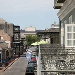 View from our French Quarter balconies