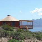 Your own piece of Baja Paradise. Private & Comfortable Beachside Yurts