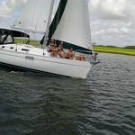 Sailing The Edge Of America - Folly Beach