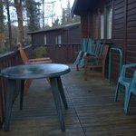 Large veranda, will be lovely in summer