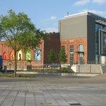 Das Rock and Pop Museum ehemals Textilfabrik