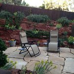 Whispering Pines patio